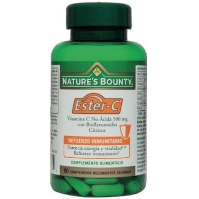 Ester-C 500 mg. Nature's Bounty NATURE´S BOUNTY 03639 Inicio salud.bio