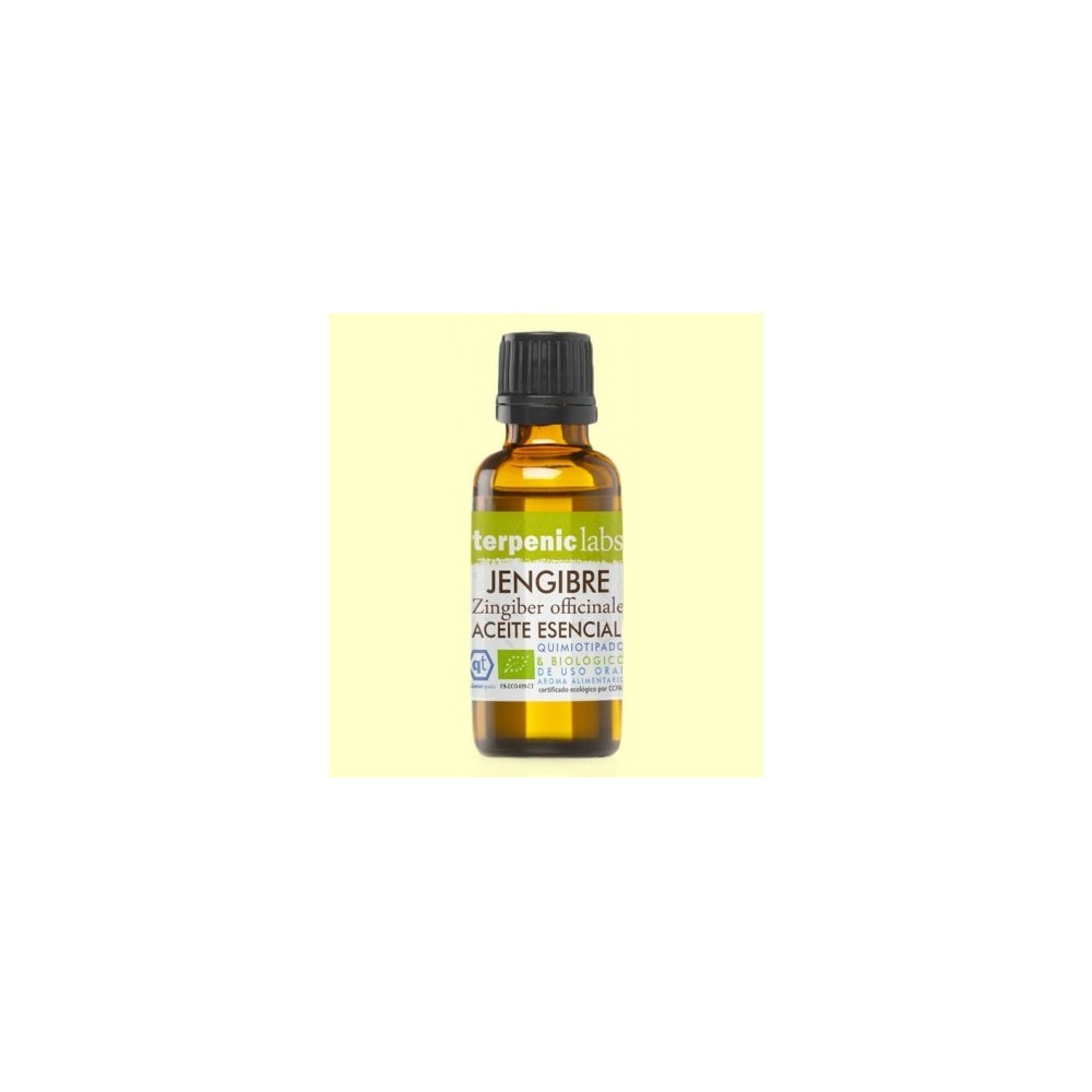 Jengibre Aceite Esencial Bio 30Ml. - Terpenic Labs Terpenic Labs aejen0030 Aceites esenciales uso interno salud.bio