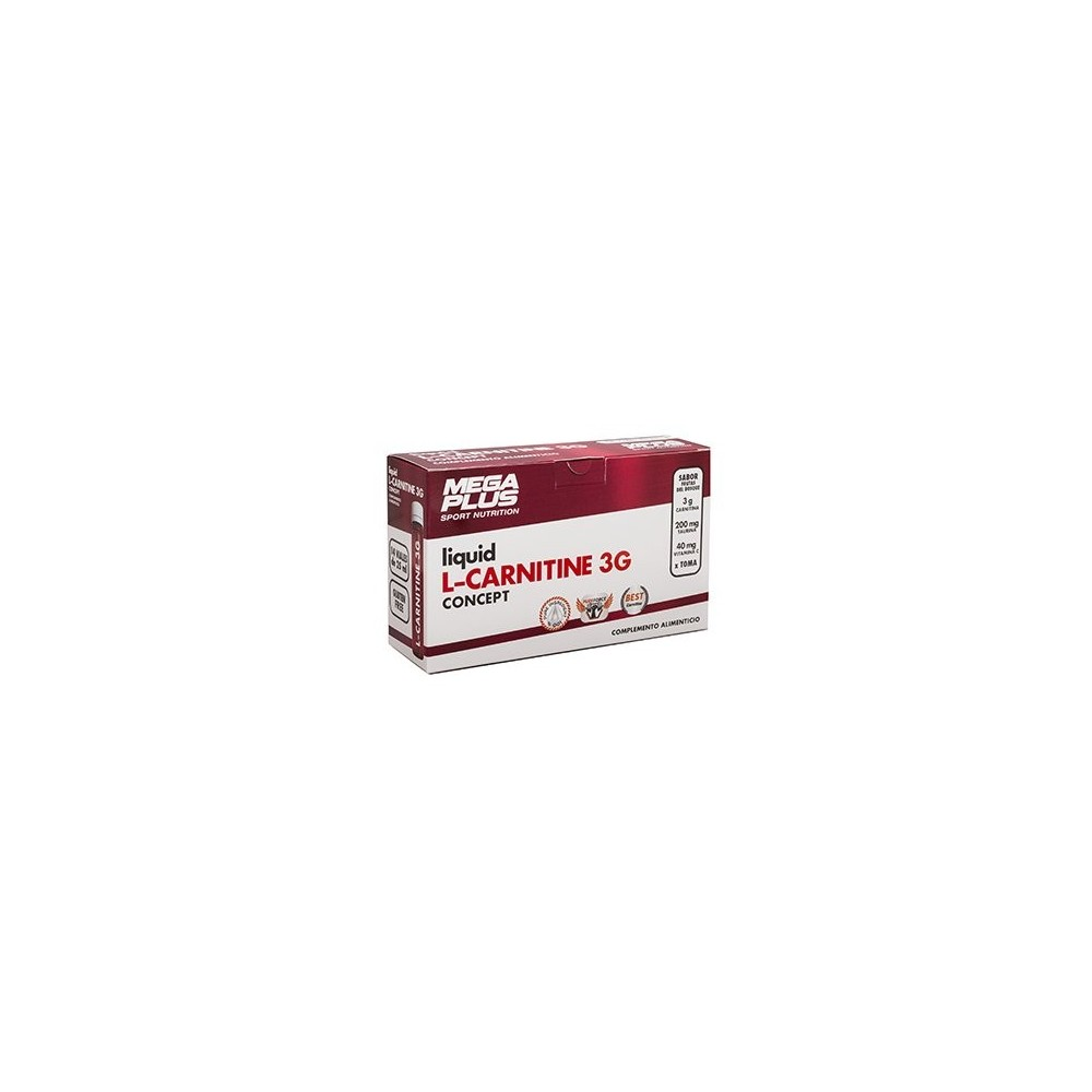 L-Carnitina (carnitine) CONCEPT 3.000 mg de Megaplus Megaplus 142021 Suplementos Deportivos (Complementos Alimenticios) salud...