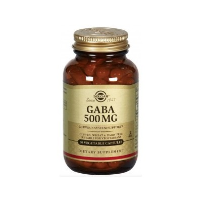 G.A.B.A. 500mg 50 capsulas SOLGAR 011210 Inicio salud.bio