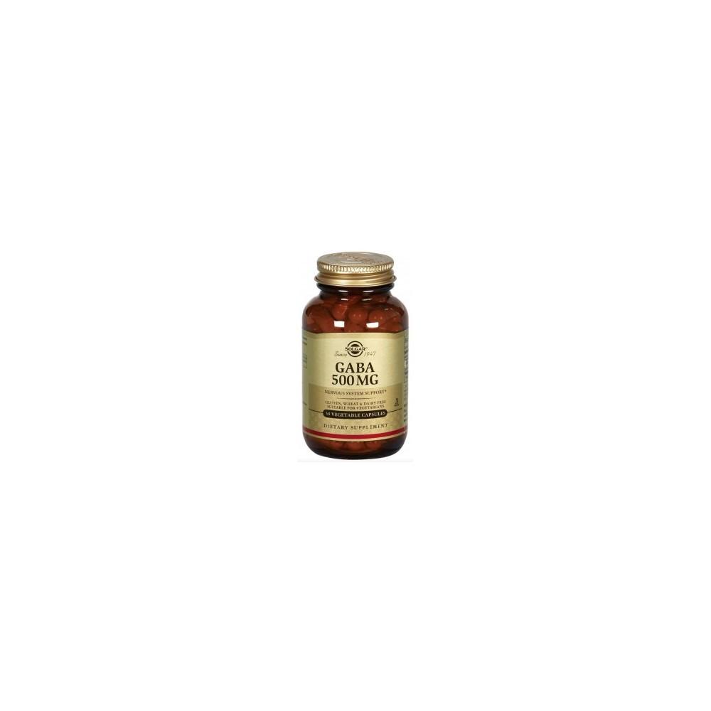 G.A.B.A. (GABA) 500mg 50 capsulas de Solgar SOLGAR 011210 Inicio salud.bio