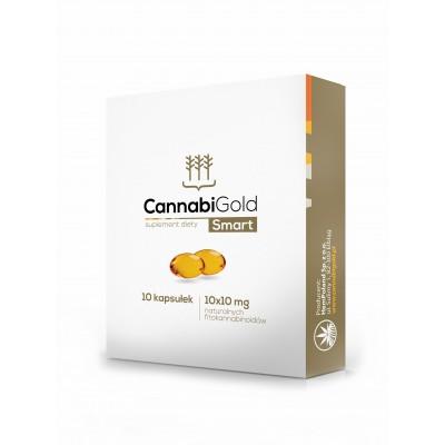 CannabiGold Smart CBD perlas de aceite en 100mg y 300mg. Cannabigold de HemPoland  Plantas Medicinales salud.bio
