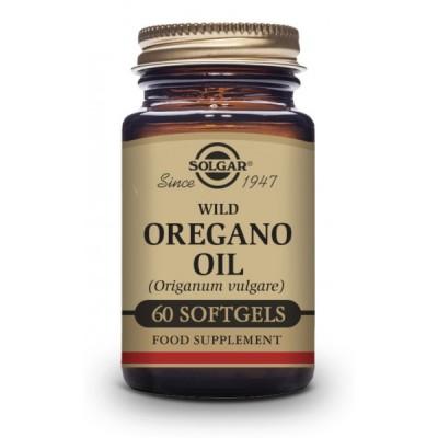Acéite de Orégano Silvestre Solagar 60 Perlas SOLGAR 172029 Complementos Alimenticios (Suplementos nutricionales) salud.bio