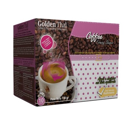 Golden Thai Coffee Reafirmante (Rosa) Golden Thai  Coffe & Tea Healthy Drink Asian  Quemagrasas y similares salud.bio