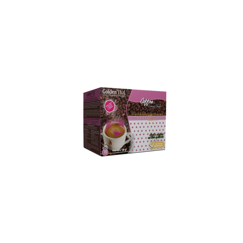 Golden Thai Coffee Reafirmante (Rosa) Golden Thai  Coffe & Tea Healthy Drink Asian  Quemagrasas y similares salud.bio