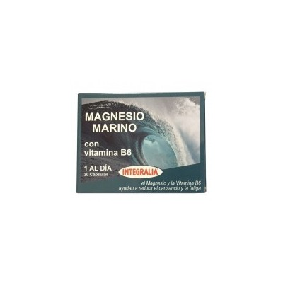 Magnesio Marino con Vitamina B6 de Integralia INTEGRALIA 502 Vitaminas y Minerales salud.bio