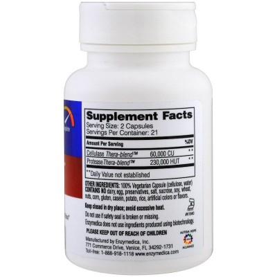 Candidase 42 Cápsulas de Enzymedica Enzymedica ENZ20140 Ayudas aparato Digestivo salud.bio