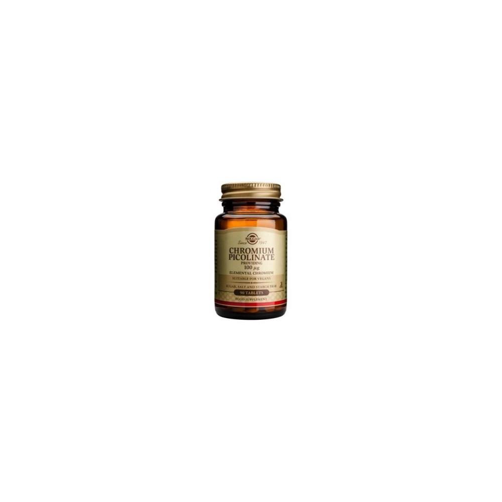 Picolinato Cromo 100mcg. 90 comprimidos de Solgar SOLGAR 101365 Inicio salud.bio