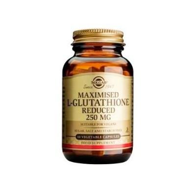 L-Glutatión Reducido, 250 mg, 60 Cápsulas Vegetales de Solgar SOLGAR 011351 Inicio salud.bio