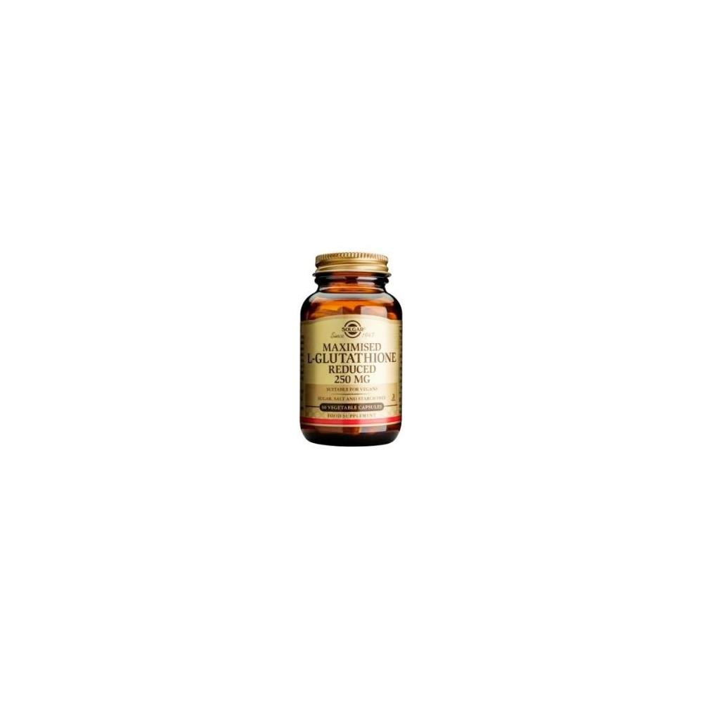 L-Glutation Maximizado 250 Mg 60 Cápsulas Solgar