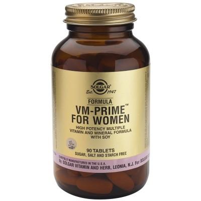 VM-Prime para Mujer 90 Comprimidos Solgar