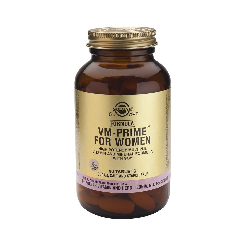 VM-Prime para Mujer 90 Cpmprimidos Solgar