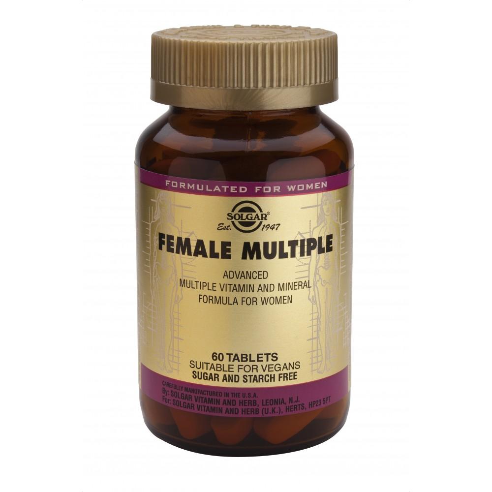 Female Multiple 60 Comprimidos Solgar SOLGAR 111074 Inicio salud.bio