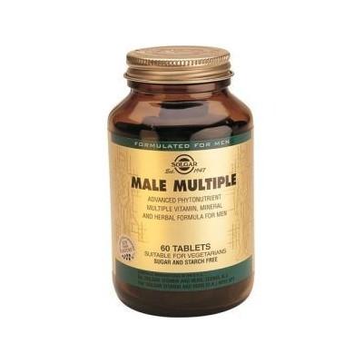Male Multiple 60 Comprimidos (Multivitaminico especial Hombre) de Solgar SOLGAR 111724 Vitaminas y Multinutrientes salud.bio
