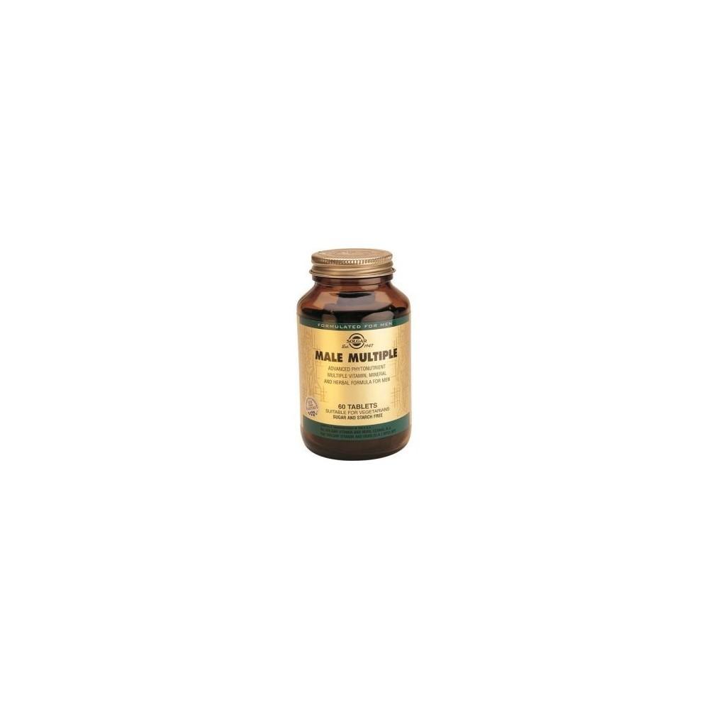 Male Multiple 60 Comprimidos (Multivitaminico especial Hombre) de Solgar SOLGAR 111724 Inicio salud.bio