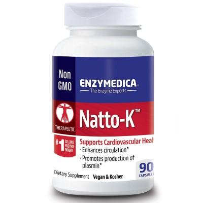 Natto-K, Cardiovascular de Enzymedica Enzymedica ENZ-22030 Sistema circulatorio salud.bio