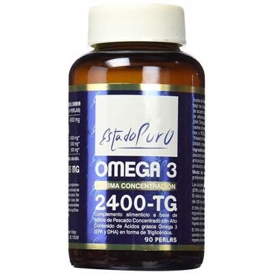 Omega 3 2400 TG - Tongil Tongil (Estado Puro) M30 Sistema cardiovascular salud.bio