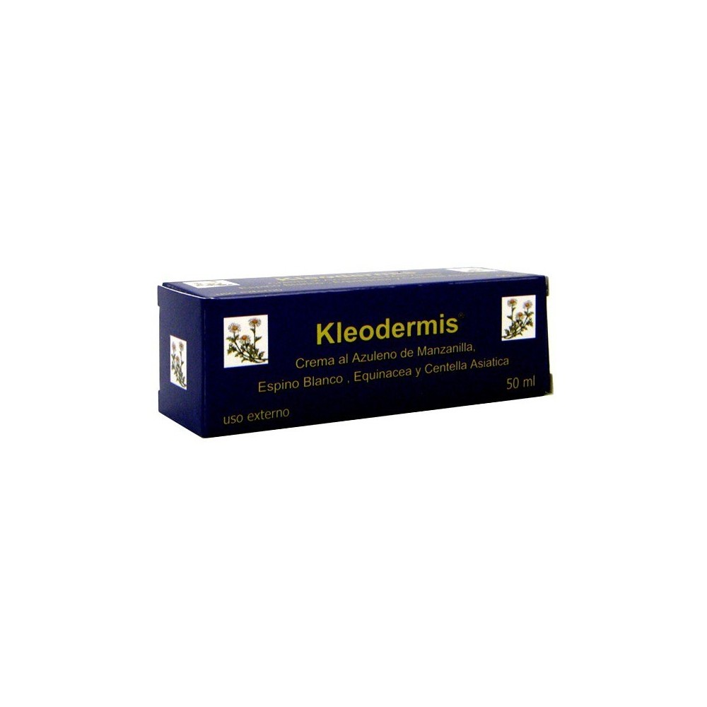 Kleodermis crema al azuleno de manzanilla de INTEGRALIA INTEGRALIA 166 Cosmética Natural salud.bio