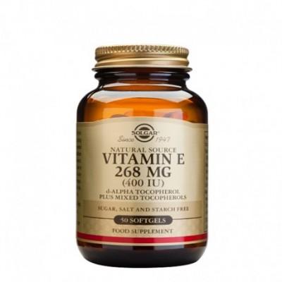Vitamina E 268Mg  (400 IU)  Solgar