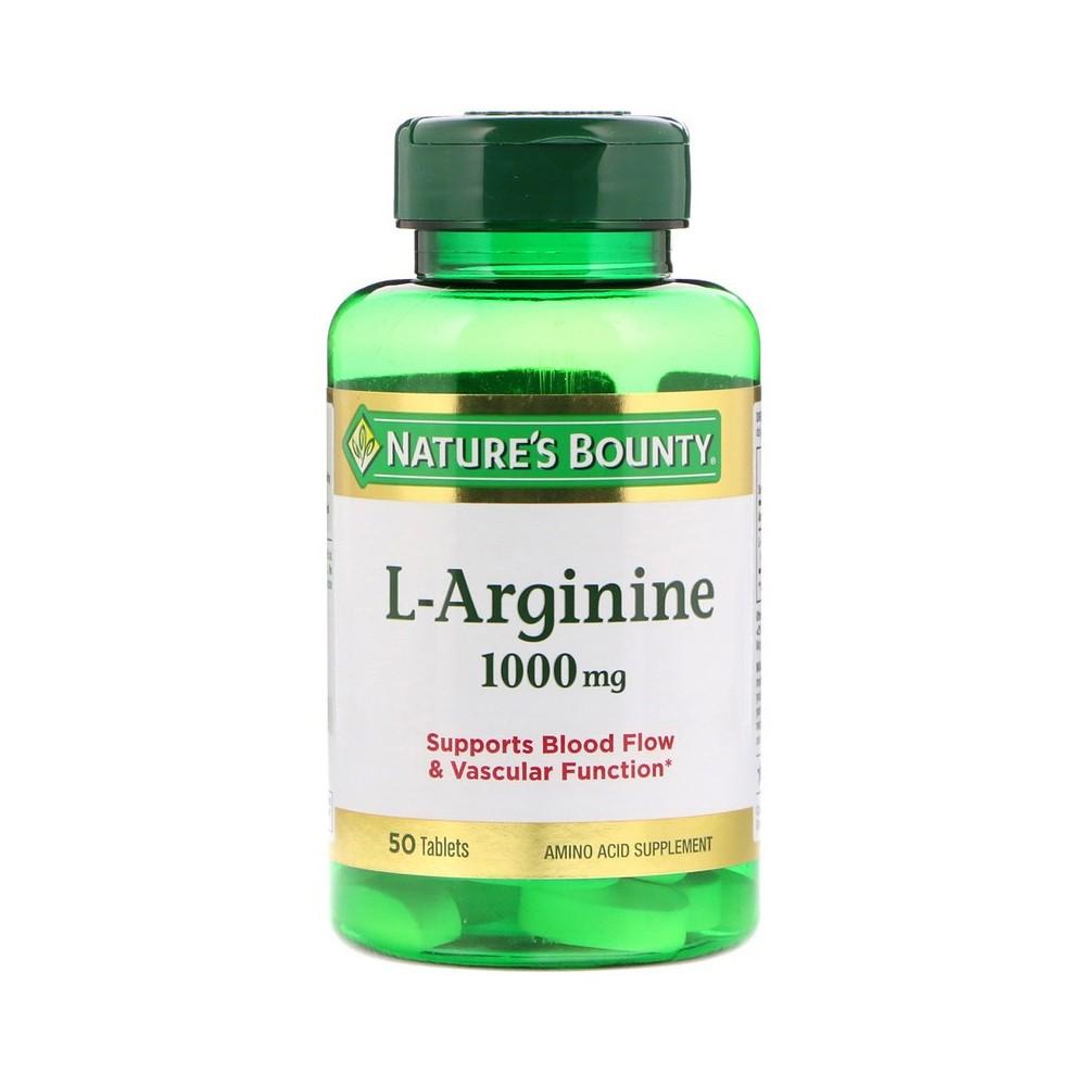 L-Arginina 1.000mg de  Nature´s Bounty