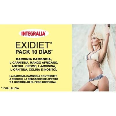 EXIDIET PACK 10 días INTEGRALIA 10 viales INTEGRALIA 417 Control de Peso salud.bio