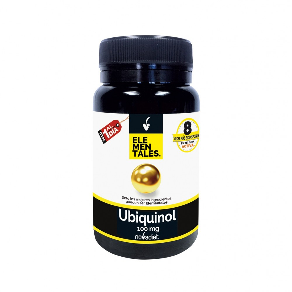 Ubiquinol 100mg - Elementales de Novadiet
