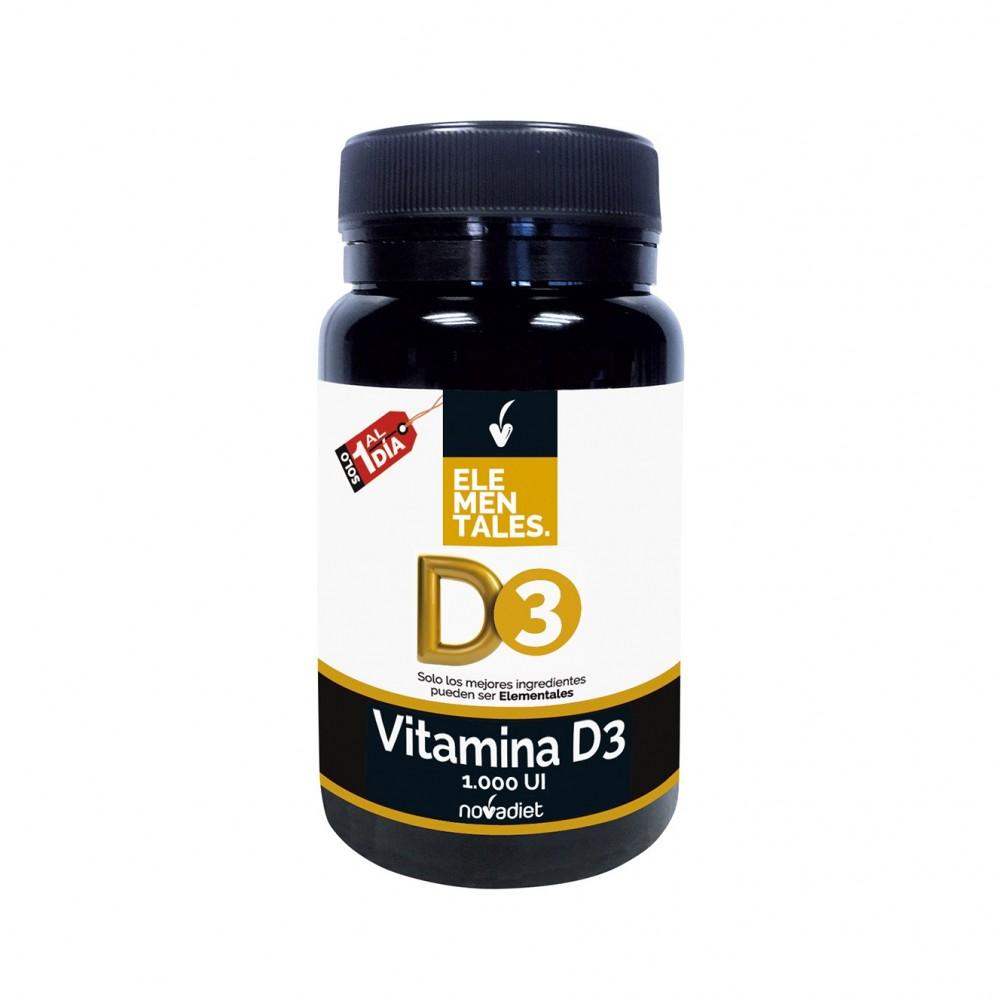 Vitamina D3 - Elementales de Novadiet