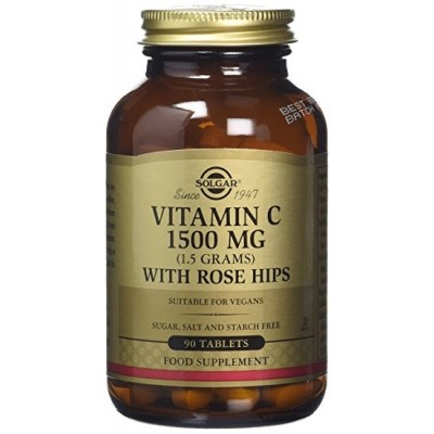 Vitamina C 1500 Mg con Escaramujo Solgar