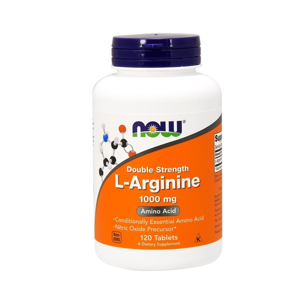 L-arginina, 1000 mg de Now Foods