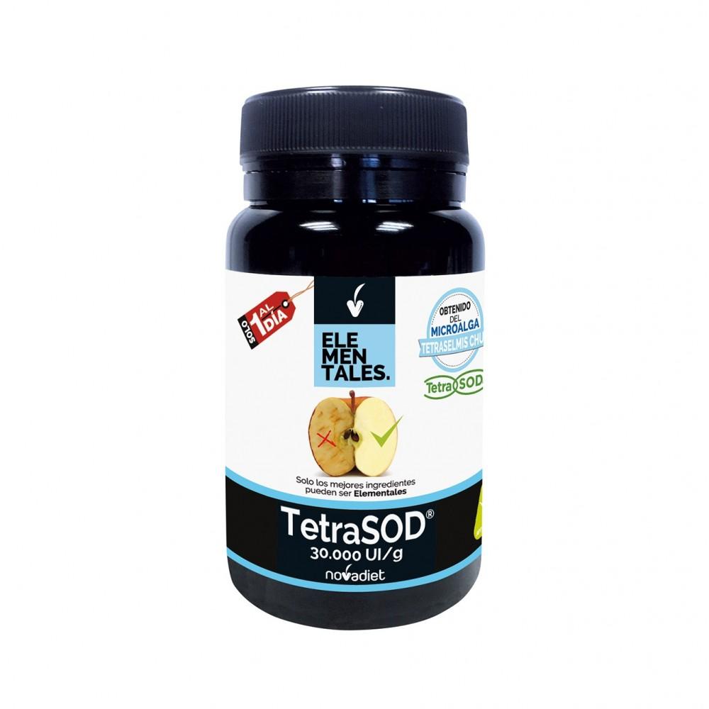 TetraSOD - Elementales de Novadiet Novadiet 53513 Piel, Cabello y Uñas, Complementos y Vitaminas salud.bio