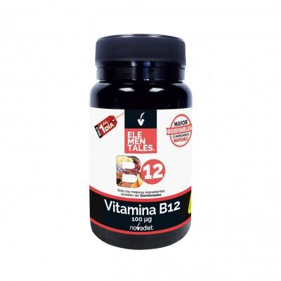 Vitamina B12 100 μg - Elementales de Novadiet Novadiet 535120 Vitamina B salud.bio
