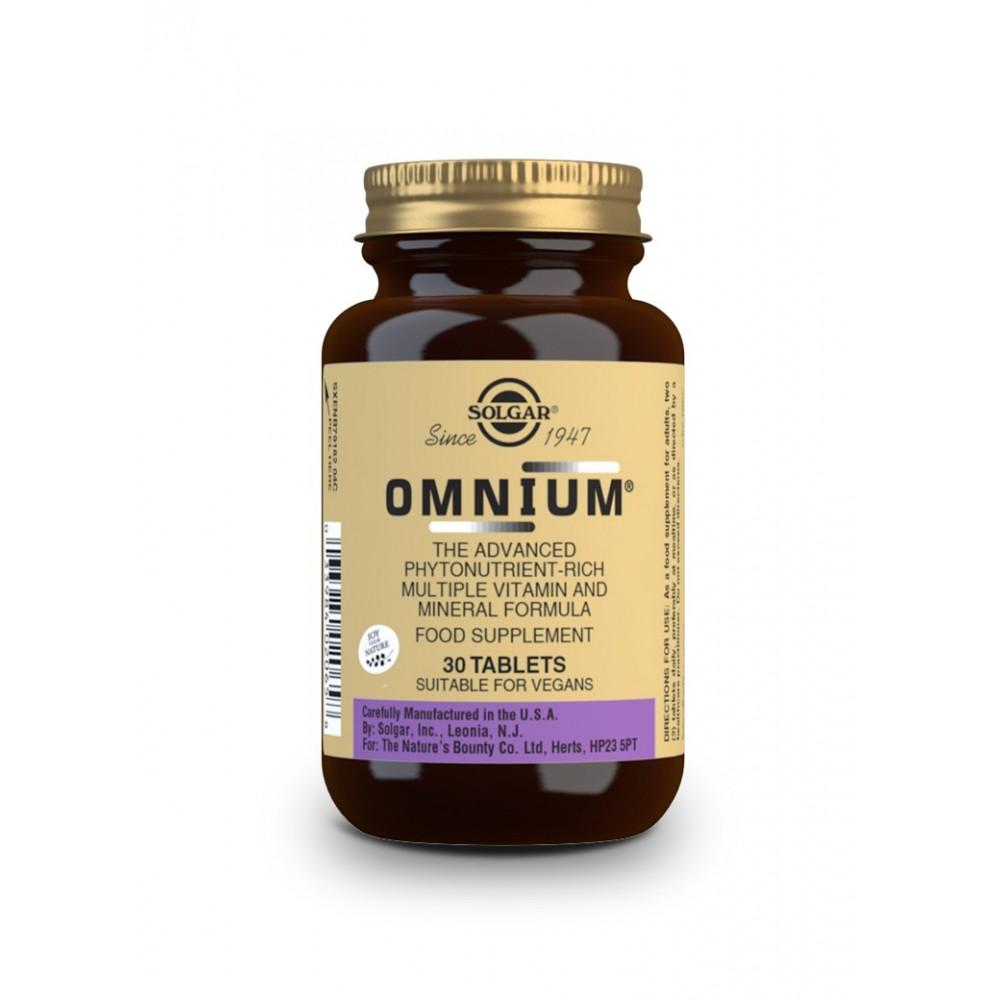 Multivitaminico Omnium de Solgar SOLGAR  Inicio salud.bio
