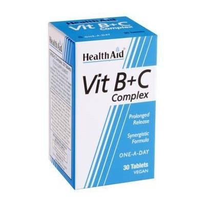 Vit B+C Complex de Health Aid