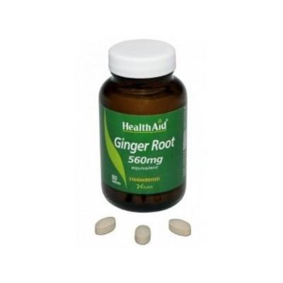 Jengibre de Health Aid Health Aid 804115 Suplementos Naturales acción Analgesica, Antiinflamatoria, malestar, dolor salud.bio