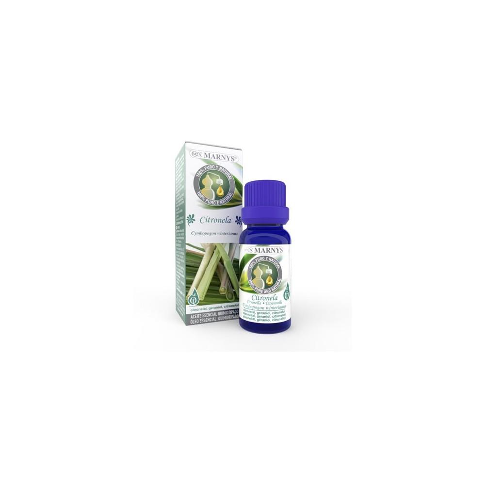 Aceite Esencial de Citronela Marnys 15 ml Marnys AA033 Acéites esenciales salud.bio