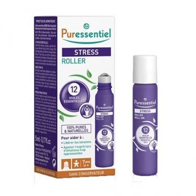Puressentiel roll-on SOS Antiestrés  Puressentiel Laboratorios  3401546259551 Estados emocionales, ansiedad, estrés, depresió...