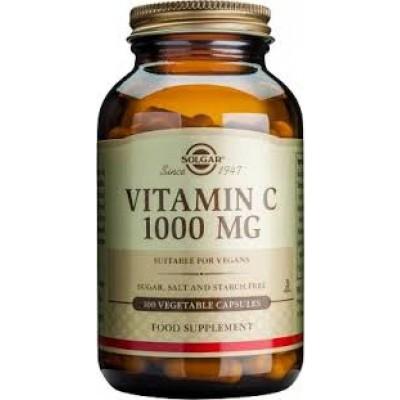 Vitamina C 1000 mg, Cápsulas Vegetales de Solgar SOLGAR  Vitamina C salud.bio