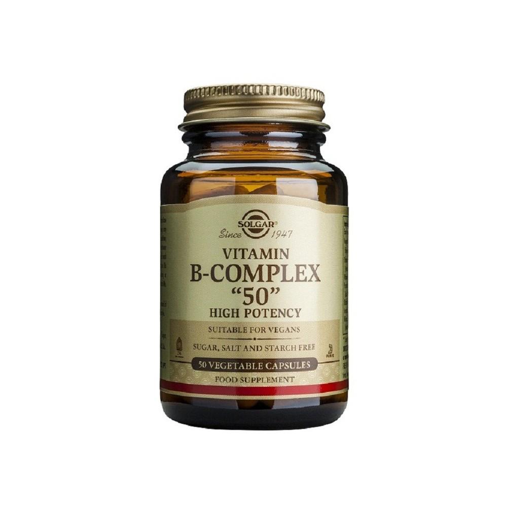 "Vitamina B-Complex  ""50""  Solgar"