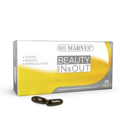 Beauty In & Out Cápsulas de Marnys Marnys  Piel, Cabello y Uñas, Complementos y Vitaminas salud.bio