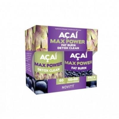 Acai Max Power Novity de Dietmed Dietmed 10019105170 Quemagrasas y similares salud.bio
