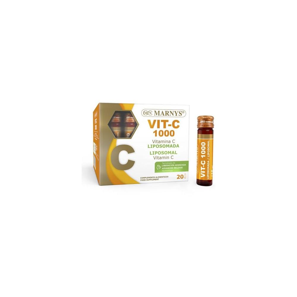 Vitamina C 1000 mg liquida liposomada de Marnys