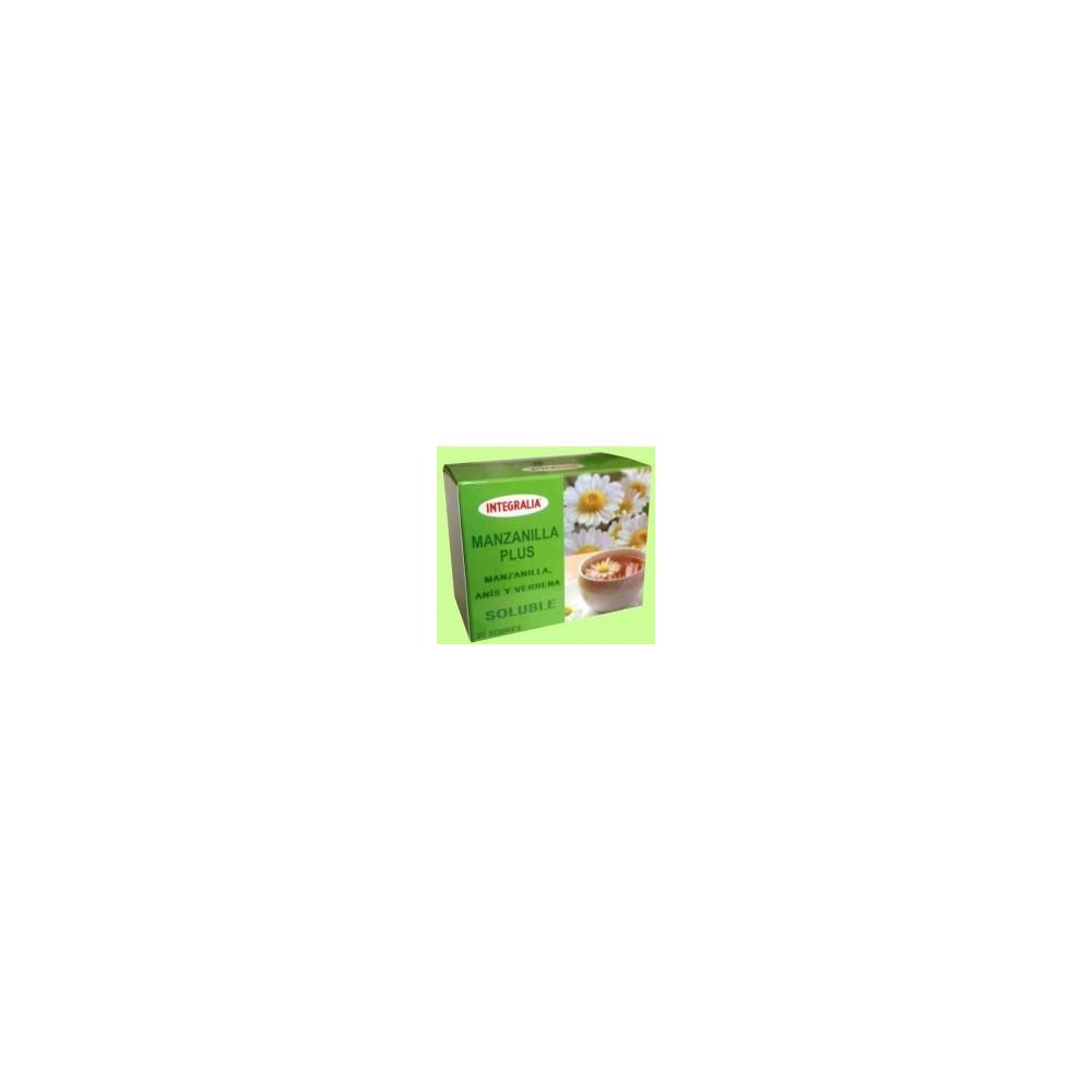 Manzanilla Plus Tisana soluble 20 sobres