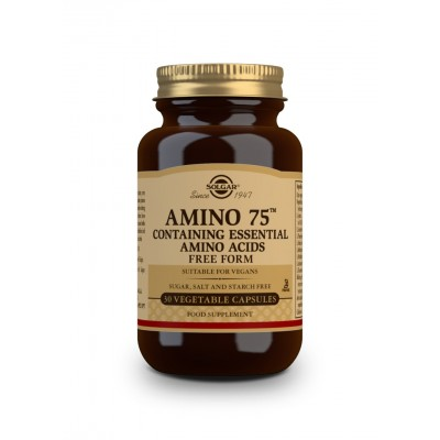 Amino 75 aminoacidos esenciales de Solgar SOLGAR  Aminoácidos salud.bio