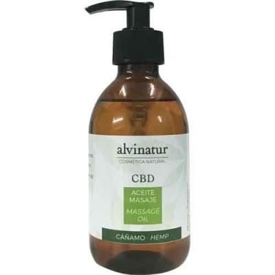 Aceite masaje CBD de Alvinatur