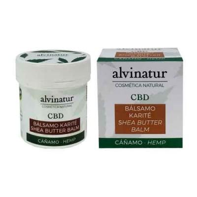 Bálsamo CBD karité y esencia de arbol de Te, de Alvinatur alvinatur bálsamo CBD karité Cosmética Natural salud.bio