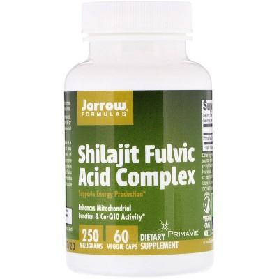 Complejo de ácido fúlvico de Shilajit, 250 mg, 60 cápsulas de Jarrow Formulas Jarrow Formula JRW-29060 Suplementos Deportivos...