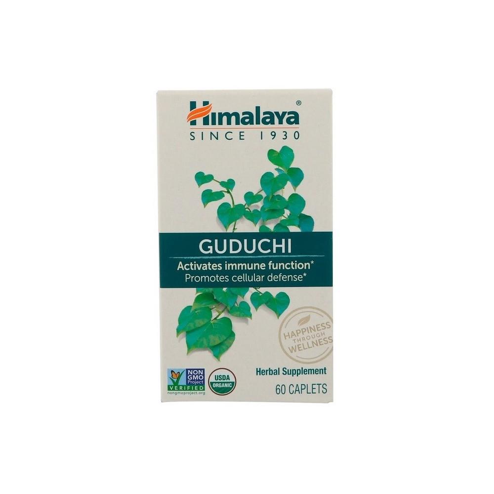 Guduchi, 60 cápsulas de Himalaya Himalaya HIM-40601 Termogénicos, Energético (Activadores Metabólicos) salud.bio
