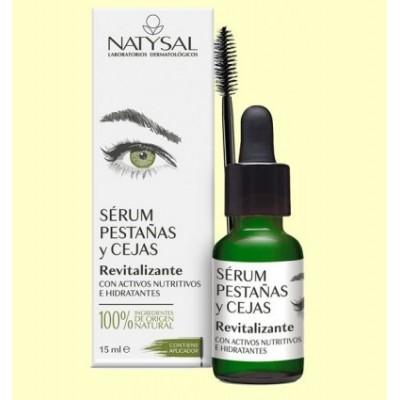 Serum pestañas y cejas de Natysal