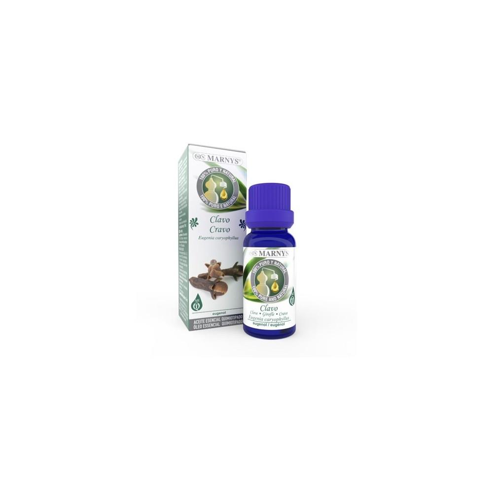 Aceite Esencial de Clavo Marnys 15 ml Marnys AA003 Aceites esenciales uso interno salud.bio