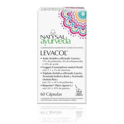 Levacol Ayurveda de Natysal Natysal 13561 Ayudas niveles Colesterol y Trigliceridos salud.bio